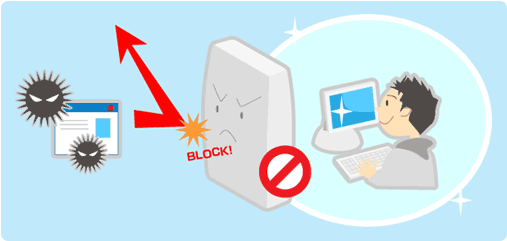 セキュリティ対策 自分のPCのみ、アクセス許可