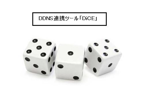 DDNS 自動連携ツール DiCE