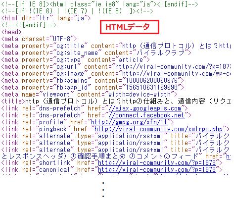 HTTP レスポンスボディ 確認手順