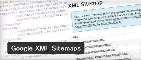 サイトマップ作成 「Google XML Sitemaps」