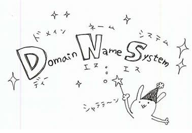 DNS(ドメインネームシステム)サーバー 仕組み