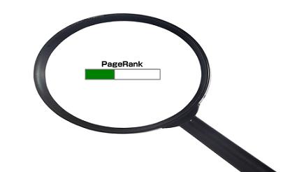 Google ページランク(PageRank) 確認手順