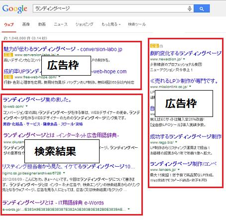 seo 検索結果ページ