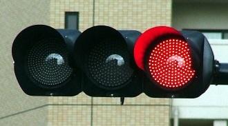 色が与える消費者心理 赤信号