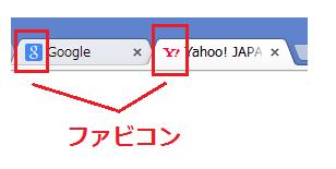 wordpressカスタマイズ ファビコンの設定