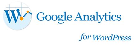 Google Analytics for WordPress プラグイン