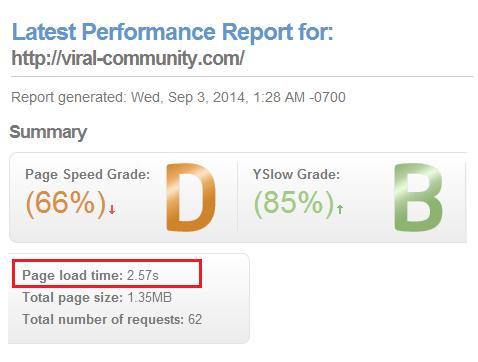Wordpress表示速度 W3 Total Cache 導入後