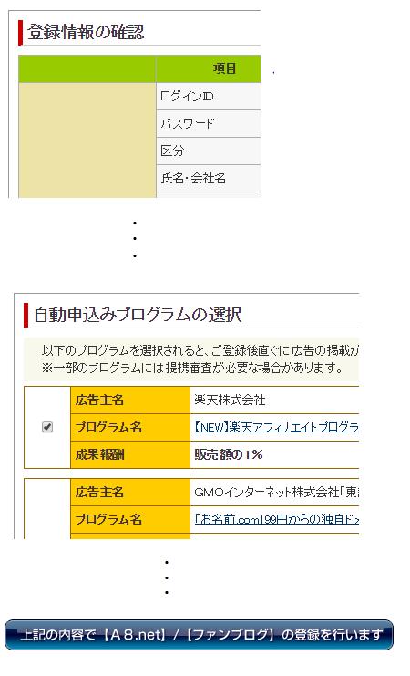 A8.net(ネット)の使い方:アカウント登録手順-8