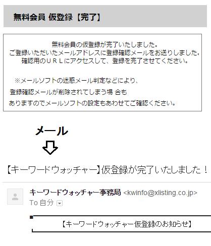 キーワードウォッチャー アカウント登録手順-3
