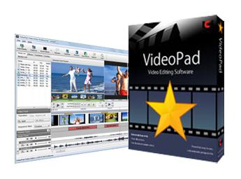 動画編集ソフト VideoPad(ビデオパッド)